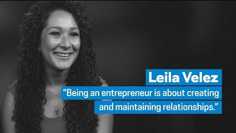 "Embedded thumbnail for Leila Velez: ""Being an Entrepreneur is about Relationships"""