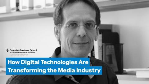 Embedded thumbnail for How Digital Technologies Are Transforming the Media Industry