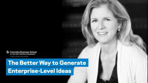 Embedded thumbnail for The Better Way to Generate Enterprise-Level Ideas