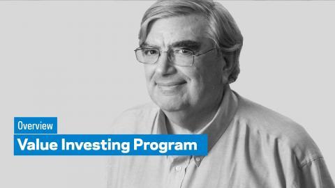 Embedded thumbnail for Value Investing Program: Overview