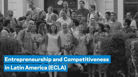 Embedded thumbnail for The Entrepreneurship and Competitiveness in Latin America (ECLA) Program