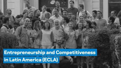 Embedded thumbnail for The Entrepreneurship and Competitiveness in Latin America (ECLA) Program