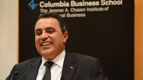 Embedded thumbnail for Tunisia's Transition to Democracy: A Discussion with Prime Minister Mehdi Jomaa