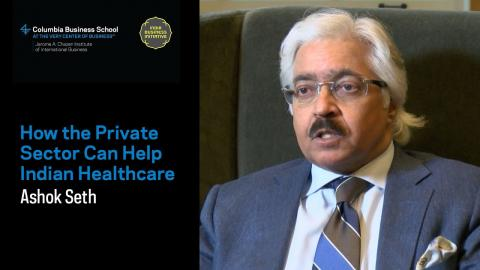Embedded thumbnail for How the Private Sector Can Help Indian Healthcare