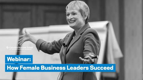 Embedded thumbnail for How Female Business Leaders Succeed