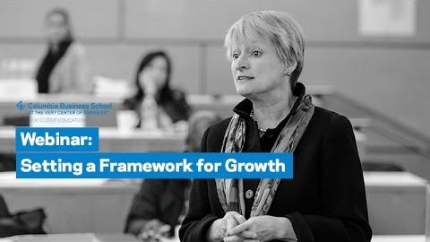Embedded thumbnail for Setting a Framework for Growth