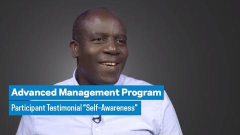 "Embedded thumbnail for Advanced Management Program: Participant Testimonial ""Self-Awareness"""