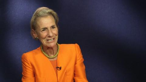 "Embedded thumbnail for Rochelle ""Shelly"" Lazarus '70: ""Be Yourself"""