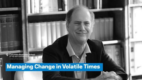 Embedded thumbnail for Managing Change in Volatile Times