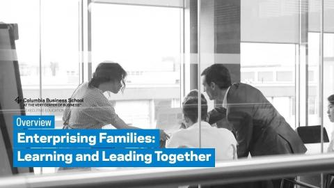 Embedded thumbnail for Enterprising Families: Learning and Leading Together