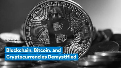 Embedded thumbnail for Blockchain, Bitcoin, and Cryptocurrencies Demystified