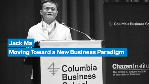 Embedded thumbnail for Jack Ma: Moving Toward a New Business Paradigm