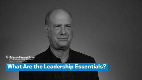 Embedded thumbnail for What Are the Leadership Essentials?