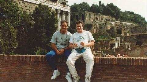 "Embedded thumbnail for Michael Lehrman '90 and Anthony Orso '90: ""We're Co-Best Friends"""