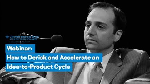 Embedded thumbnail for How to Derisk and Accelerate an Idea-to-Product Cycle