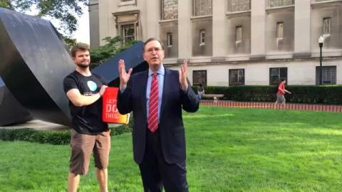 Embedded thumbnail for Dean Glenn Hubbard Takes the ALS Ice Bucket Challenge