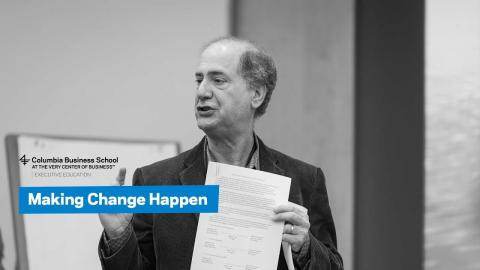 Embedded thumbnail for Making Change Happen in Your Organization