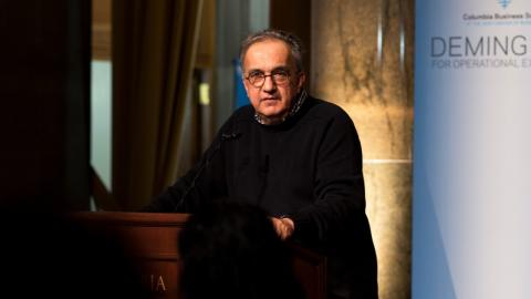 Embedded thumbnail for Deming Cup 2017: Sergio Marchionne