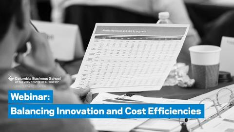 Embedded thumbnail for Balancing Innovation and Cost Efficiencies