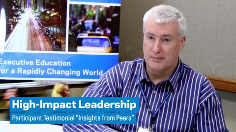 """Embedded thumbnail for High-Impact Leadership: Participant Testimonial """"Insights from Peers"""""""