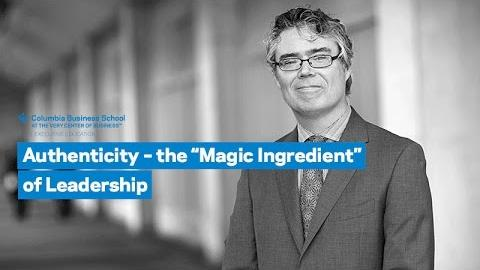 "Embedded thumbnail for Authenticity – the ""Magic Ingredient"" of Leadership"