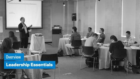 Embedded thumbnail for Leadership Essentials: Overview