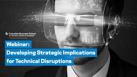 Embedded thumbnail for Strategic Implications for Technical Disruptions
