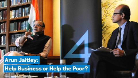 Embedded thumbnail for Help Business or Help the Poor?