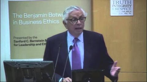 Embedded thumbnail for NBA Commissioner David Stern Awarded 2014 Botwinick Prize