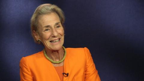 "Embedded thumbnail for Rochelle ""Shelly"" Lazarus '70 On Being the Only Woman in the Room"