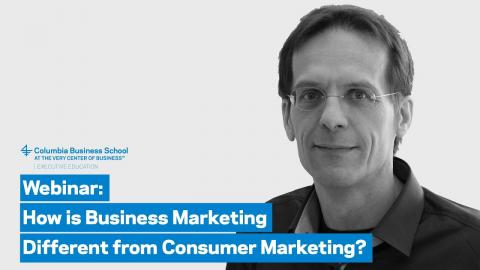 Embedded thumbnail for How is Business Marketing Different from Consumer Marketing?