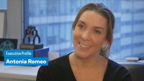 Embedded thumbnail for Executive Profile: Antonia Romeo