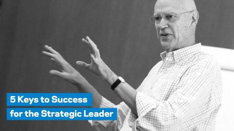 Embedded thumbnail for 5 Keys to Success for the Strategic Leader