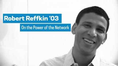 Embedded thumbnail for Robert Reffkin '03 on the Power of the Network