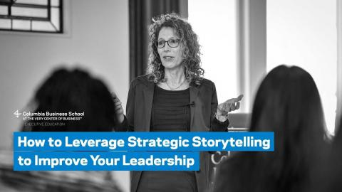 Embedded thumbnail for How to Leverage Strategic Storytelling to Improve Your Leadership