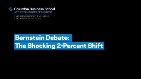 Embedded thumbnail for Bernstein Debate: The Shocking 2-Percent Shift – Professor Andrew Gelman
