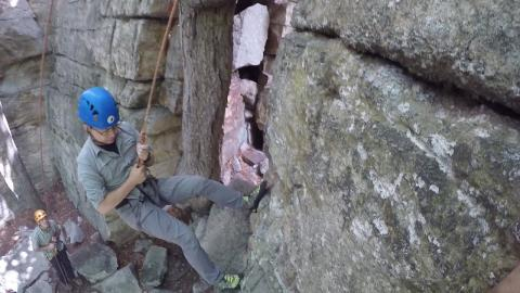 Embedded thumbnail for Leadership Lab: Rock Climbing in the Gunks