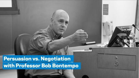Embedded thumbnail for Persuasion vs. Negotiation