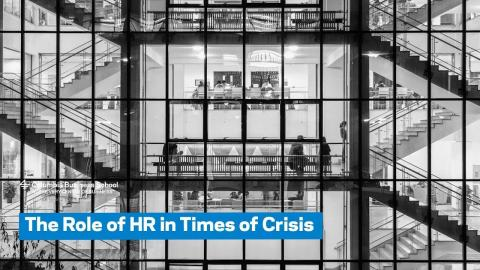 Embedded thumbnail for The Role of HR in Times of Crisis