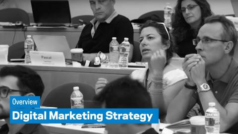 Embedded thumbnail for Digital Marketing StrategyProgram: Overview
