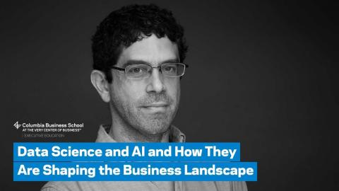 Embedded thumbnail for Data Science and AI and How They Are Shaping the Business Landscape