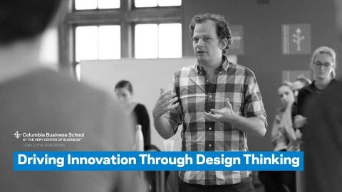 Embedded thumbnail for Driving Innovation Through Design Thinking