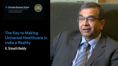 Embedded thumbnail for K. Srinath Reddy: The Key to Making Universal Healthcare in India a Reality