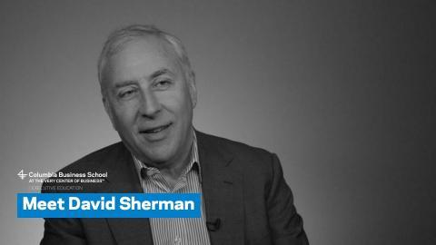 Embedded thumbnail for Meet David Sherman