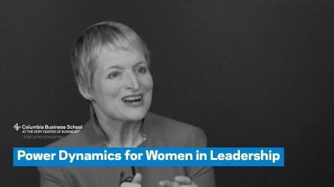 Embedded thumbnail for Power Dynamics for Women in Leadership
