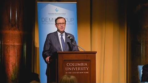 Embedded thumbnail for 2018 Deming Cup: Columbia Business School Dean Glenn Hubbard's Welcome Remarks