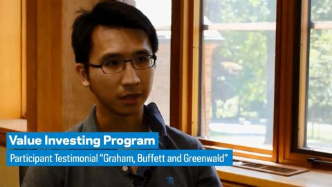 "Embedded thumbnail for Value Investing: Participant Testimonial ""Graham, Buffett and Greenwald"""