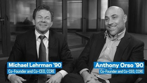 Embedded thumbnail for Engaging Leaders: Michael Lehrman '90 and Anthony Orso '90