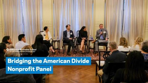 Embedded thumbnail for Bridging the American Divide Nonprofit Panel