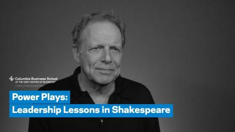 Embedded thumbnail for Power Plays: Leadership Lessons in Shakespeare